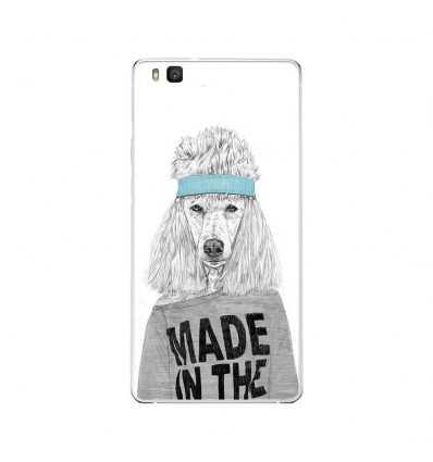 Coque en silicone Huawei P9 Lite - BS 80s Bitch