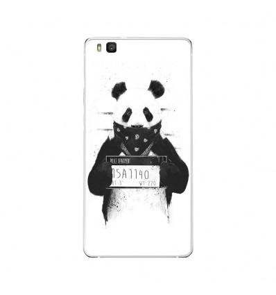 Coque en silicone Huawei P9 Lite - BS Bad Panda