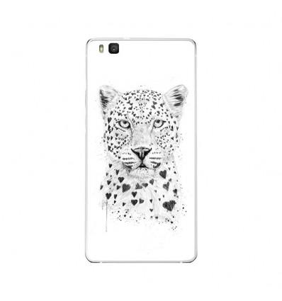 Coque en silicone Huawei P9 Lite - BS Love leopard