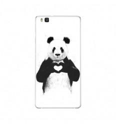 Coque en silicone Huawei P9 Lite - BS Love Panda