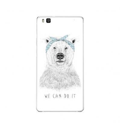Coque en silicone Huawei P9 Lite - BS We can do it