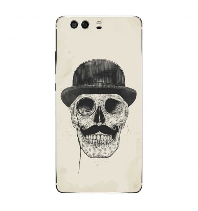 Coque en silicone Huawei P9 - BS Class skull