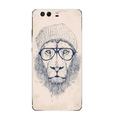 Coque en silicone Huawei P9 - BS Cool Lion