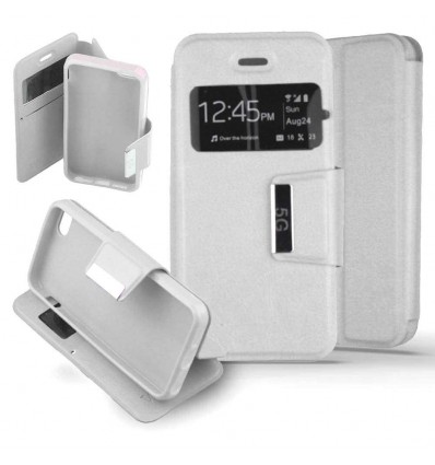 Etui Folio Apple iPhone 5 / 5S - Blanc