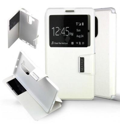 Etui Folio Huawei Mate 8 - Blanc