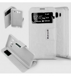 Etui Folio Samsung Galaxy J5 2016 - Blanc