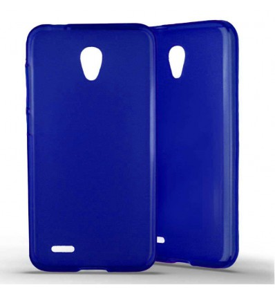 Coque silicone Alcatel One Touch Go Play – Bleu