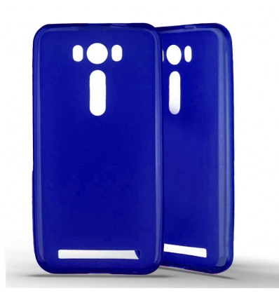 Coque silicone Asus ZenFone 2 Laser (ZE500KL) - Bleu