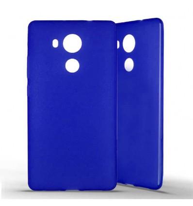 Coque silicone Huawei Mate 8 - Bleu