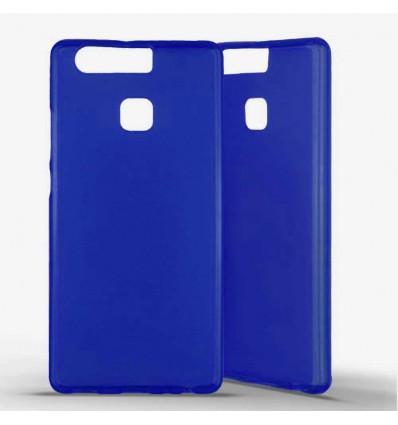 Coque silicone Huawei P9 - Bleu
