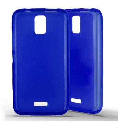 Coque silicone Huawei Y3 - Bleu