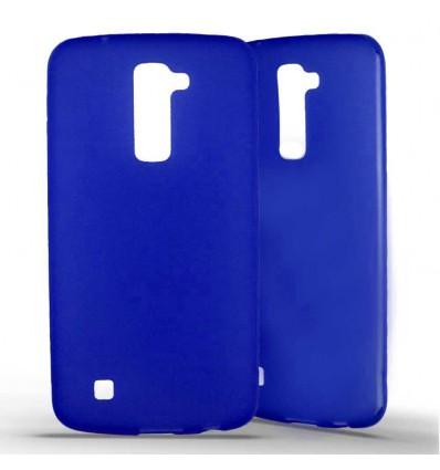Coque silicone LG K10 - Bleu