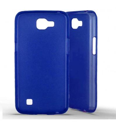Coque silicone LG K4 - Bleu