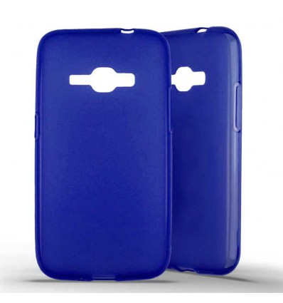 Coque silicone Samsung Galaxy J1 (2016) - Bleu