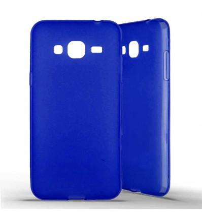 Coque silicone Samsung Galaxy J3 (2016) - Bleu