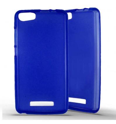 Coque Silicone Wiko Lenny 2 - Bleu