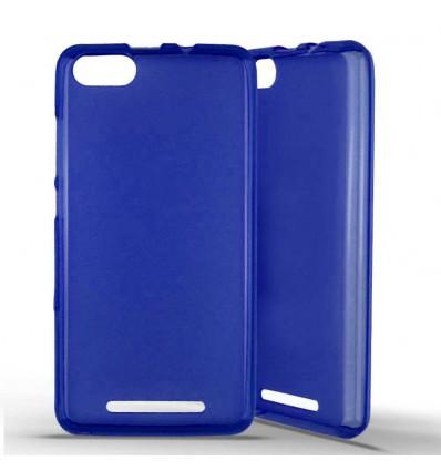 Coque silicone Wiko Lenny 3 - Bleu