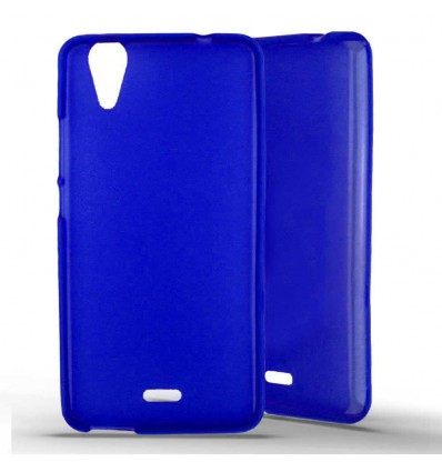 Coque silicone Wiko Rainbow Jam 4G - Bleu