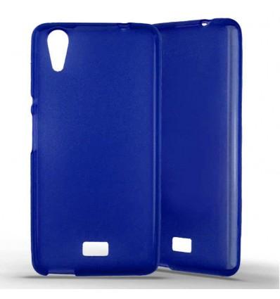 Coque silicone Wiko Rainbow Lite - Bleu