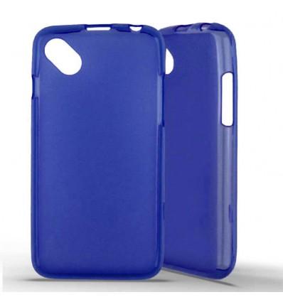 Coque silicone Wiko Sunny - Bleu