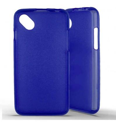 Coque silicone Wiko Sunset 2 - Bleu