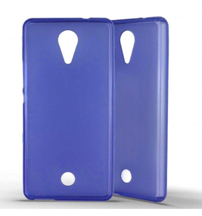 Coque Silicone Wiko Tommy - Bleu