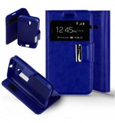 Etui Folio Alcatel One Touch Pixi 3 (4.0) - Bleu