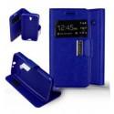 Etui Folio Alcatel One Touch Pixi 3 (4.5) - Bleu