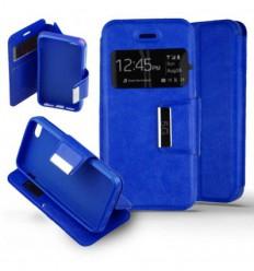 Etui Folio Apple iPhone 5 / 5S - Bleu