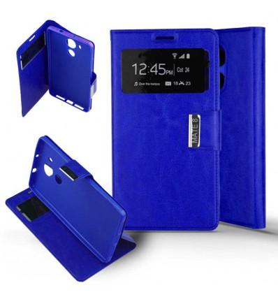Etui Folio Huawei Mate 8 - Bleu