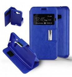 Etui Folio Samsung Galaxy J1 (2016) - Bleu