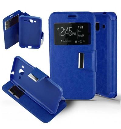 Etui Folio Samsung Galaxy J3 2016 - Bleu