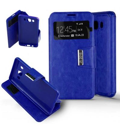 Etui Folio Samsung Galaxy J5 2016 - Bleu