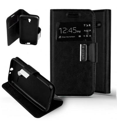 Etui Folio Alcatel One Touch Pixi 3 (4.5) - Noir