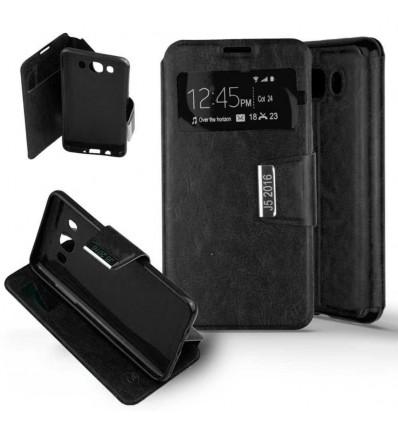 Etui Folio Samsung Galaxy J5 2016 - Noir