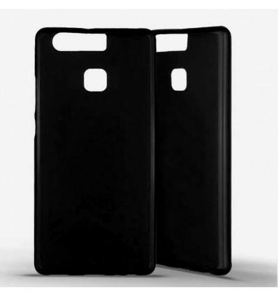 Coque silicone Huawei P9 - Noir Opaque
