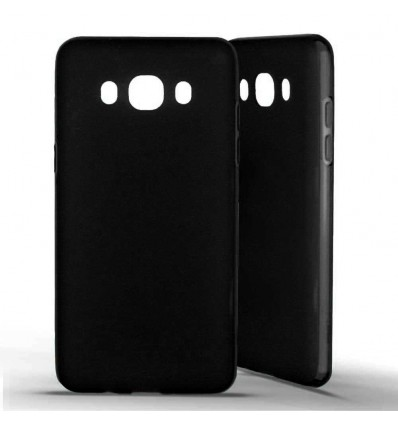 Coque silicone Samsung Galaxy J5 (2016) - Noir Opaque