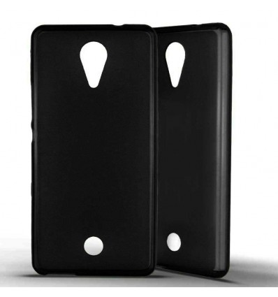 Coque Silicone Wiko Tommy - Noir