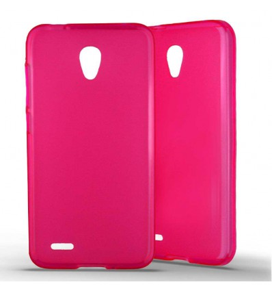 Coque Alcatel One Touch Go Play en Silicone Gel Givré- Rose