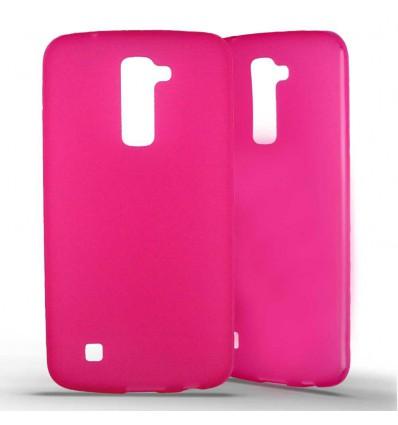 Coque silicone LG K10 - Rose