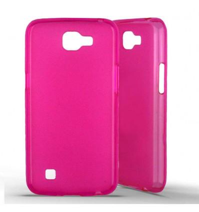 Coque silicone LG K4 - Rose