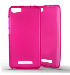 Coque Silicone Wiko Lenny 2 - Rose