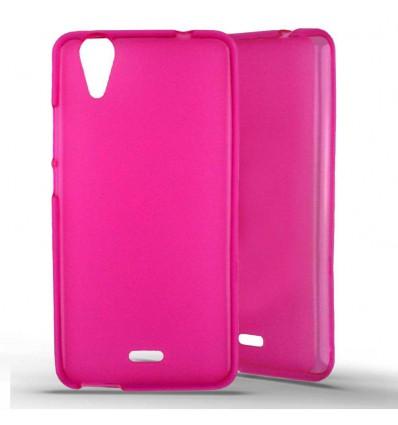 Coque silicone Wiko Rainbow Jam 4G - Rose
