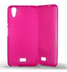 Coque silicone Wiko Rainbow Lite - Rose