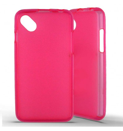Coque silicone Wiko Sunset 2 - Rose