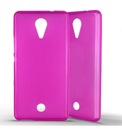 Coque Silicone Wiko Tommy - Rose
