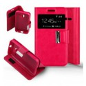 Etui Folio Alcatel One Touch Pixi 3 (4.0) - Rose
