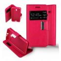 Etui Folio Alcatel One Touch Pixi 3 (4.5) - Rose