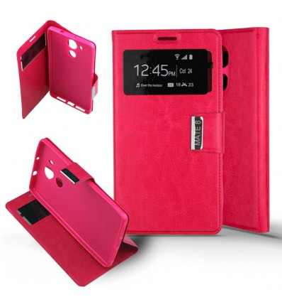 Etui Folio Huawei Mate 8 - Rose