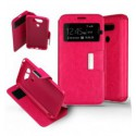 Etui Folio LG G5 - Rose Fushia